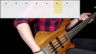 Tool - Intension (Bass Only) (Play Along Tabs In Video)