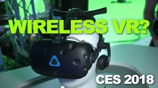 CES 2018: The HTC Vive Goes Wireless