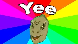 What is the meaning of Yee? The history and origin of the yee dinosaur meme