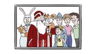 видео заказывали Деда Мороза и Снегурочку