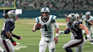 Madden 20 - Super Bowl XXXVIII Rematch New England Patriots vs Carolina Panthers Madden NFL 20