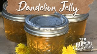 DANDELION JELLY | How-To Make Jelly w/ Dandelions