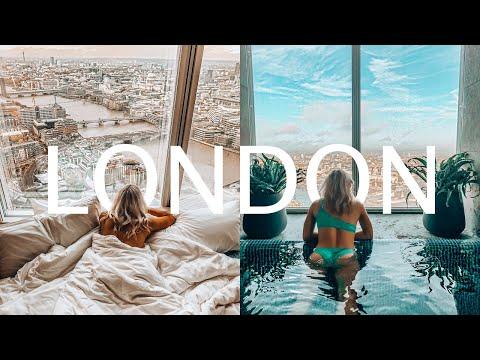 INSIDE THE SHARD HOTEL - Shangri-La London, Molton Brown Christmas | Vlog