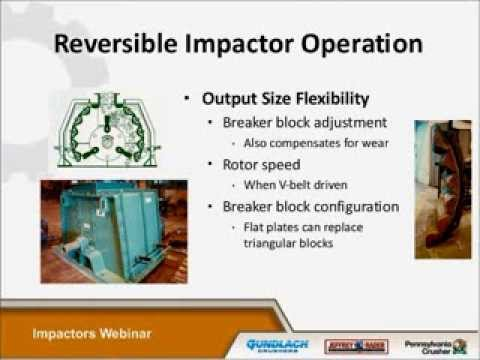 Pennsylvania Crusher Brand Impactors - TerraSource Global Webinar Series
