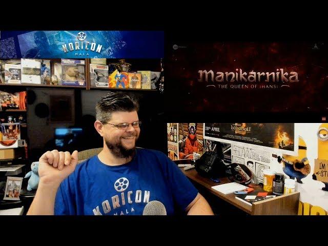 🎥 Manikarnika - Hindi Teaser Reaction Review!