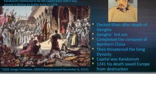 Mongols Part I Golden Horde of Russia, Il Khan, and Europe AP World History