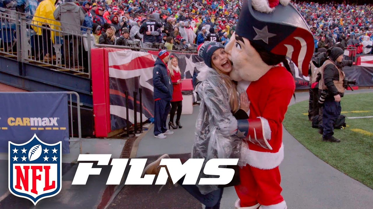 Katie Nolan's VIP Christmas Eve Trip to Patriot Fan Heaven | NFL ...