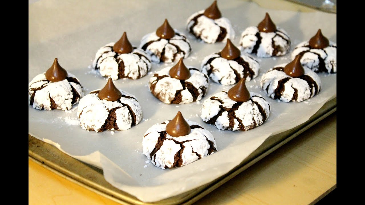 Chocolate Crinkles Cookies - in the Kitchen With Jonny Episode 30 ...