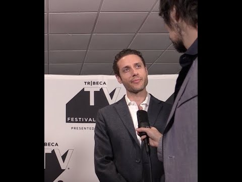 Paulo Costanzo talks Designated Survivor Lyor Boone @ Tribeca TV Festival Red Carpet