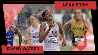 Sammy Watson Goes Pro   Impact On NCAA 800m