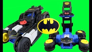 Imaginext Transforming Batmobile R/C + Batman Robot Vs Joker ! Superhero Toys