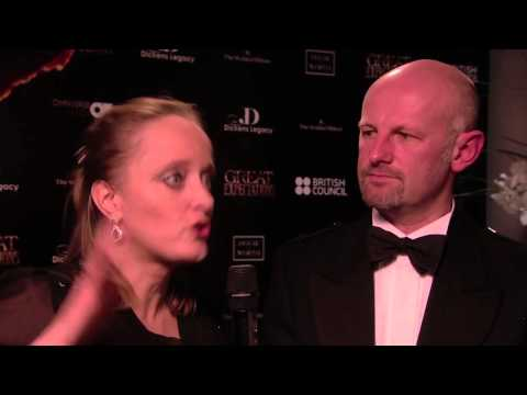 Great Expecations Gala Night Interview - Lucinda Dickens Hawksley & Bruce Athol MacKinnon
