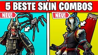 Top 5 BEST Skin Combinations for New Skins | Fortnite Season 6 German German