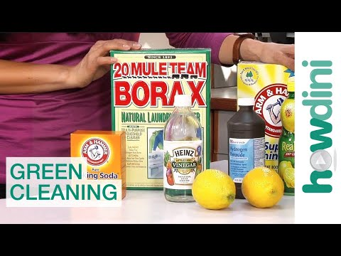 Green cleaning: How to find and use green cleaning products