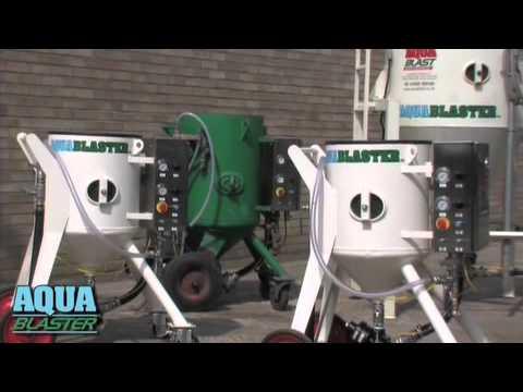 Http://www.aquablast.co.uk - Wet Blasting -dust Free- Surface Coating Preparation