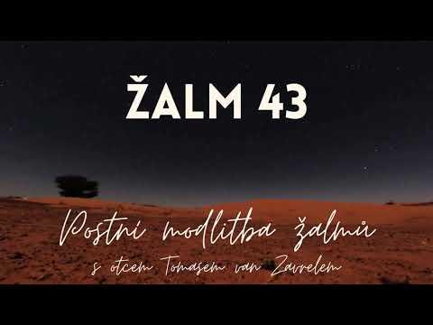 Žalm 43 - postní modlitba
