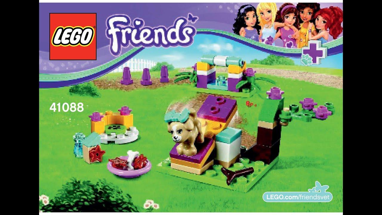 Lego 41088 Puppy Training Instructions Lego Friends 2015 Youtube