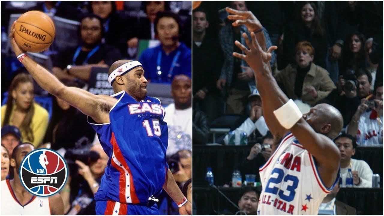 e9ed87a3611 NBA All-Star Game Top Plays | Michael Jordan jumper, Vince Carter dunk | NBA  Highlights