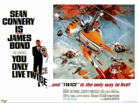 James Bond you only live twice soundtrack