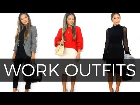 Work Outfits | Outfit Ideas For Work |How To Style Work Attire
