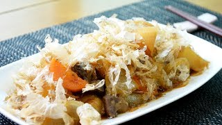 집밥백선생 인생감자조림! 일본식 감자조림 - 니쿠자가 / 칼로리 및 영양성분 / Japanese-style Soy Sauce Braised Potatoes
