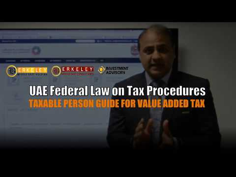 How To File The (Value Added Tax) VAT Return In United Arab Emirates