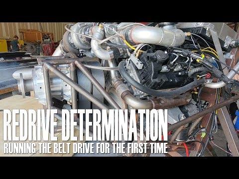 ReDrive Determination - Running the belt drive