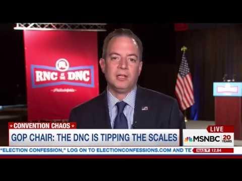 RNC Chairman Reince Priebus on MSNBC
