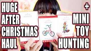 HUGE After Christmas Sale Shopping + Mini Toy Hunting!!! - I Saved Over $200!