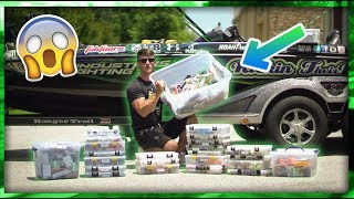 $10,000 Fishing Tackle Out Of My Boat & $500 Giveaway