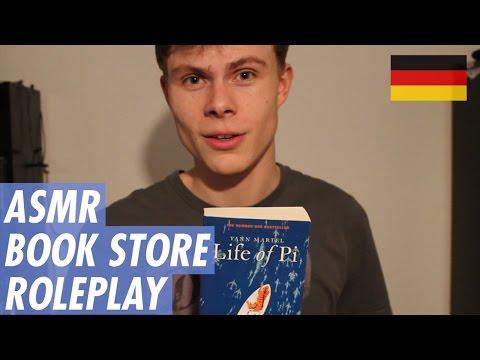 ASMR - Book Store Roleplay - Soft spoken - Deutsch/German