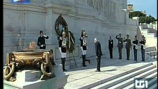 Frecce Tricolori - Sorvolo Festa della Repubblica 2 Giugno 2011