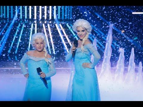 Roko y Carla cantan Let it go de Frozen en Tu cara ...