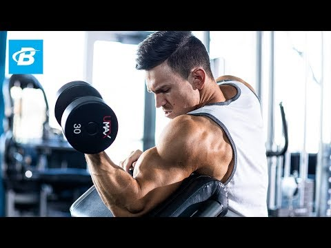 High-Volume Biceps Workout for Mass | Abel Albonetti's 30-Day Arms Program