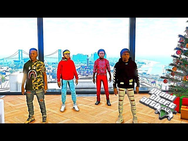 BAD KIDS ON THE BLOCK 7 (GTA 5 SKIT)