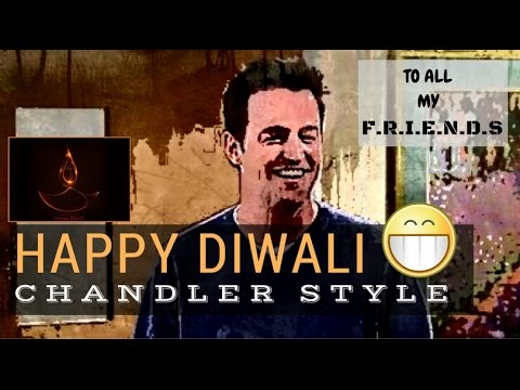 Happy Diwali FRIENDS | Did PPAP steal Chandler's signature move?
