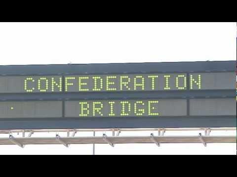 PEI's Confederation Bridge: The Northumberland Strait