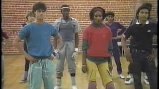 BREAKDANCE You Can Do It! Breakdance Instructions! VHS 1984