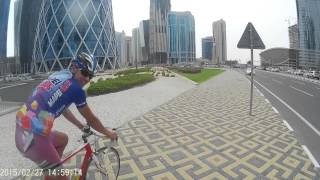 Video bicycle trip in Qatar, Doha downtown, City Center download MP3, 3GP, MP4, WEBM, AVI, FLV Oktober 2018