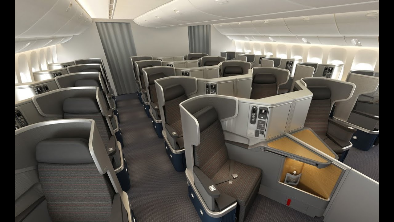 American Airlines New Business Class Youtube