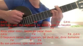 Onur Can Özcan - Kibrit Gitar dersi
