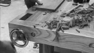 Roubo's German Cabinet Maker's Bench Featuring The Benchcrafted Tail Vise