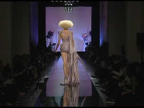 Jean-Paul Gaultier honours stars of cinema in Paris show