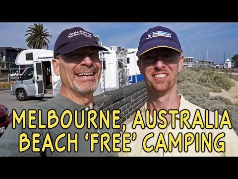 "Melbourne, Australia Beachfront RV Boondocking (""Free Camping"")"