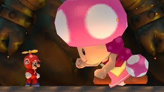 Evil Toadette Fight in New Super Mario Bros. Wii