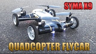 Syma X9 Квадрокоптер или летающая машина  car quadcopter