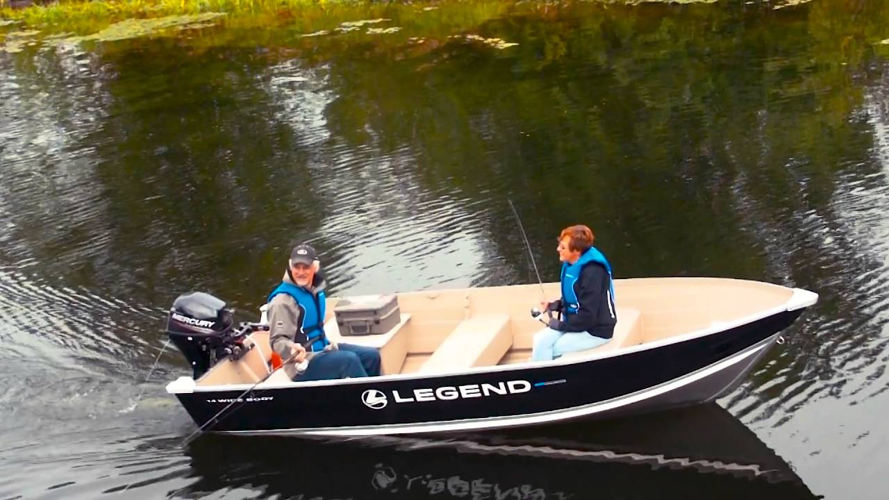 2016 top fishing boats by legend boats 14 widebody youtube for Best fishing boats