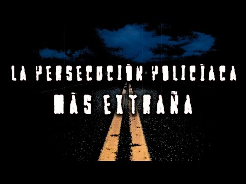 La persecución policíaca más extraña jamás filmada