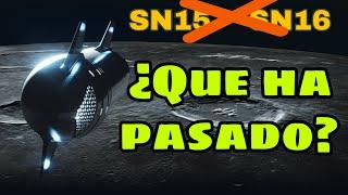 ❌STARSHIP SN15 y SN16 casi DESCARTADAS  Motor Raptor para vacío Starship SN20   SpaceX ESPAÑOL 🇪🇸