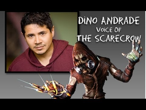 'Scarecrow' Voice Actor & Soul Geek Founder, Dino Andrade